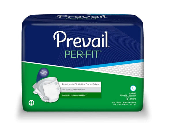 Per-Fit Adult Diapers, Large, 72/case, Shipping Included