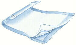 StaPut Underpads with Adhesive Strips, 28 x 36, 72 per case, Shipping Included
