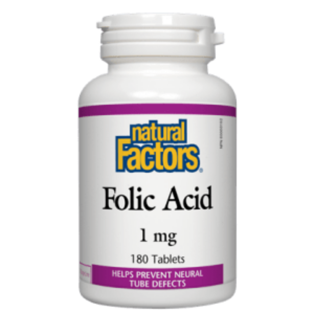Acide folique 1 mg (90 capsules)