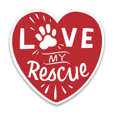 "Rescue car magnet NEW 5""x5"""