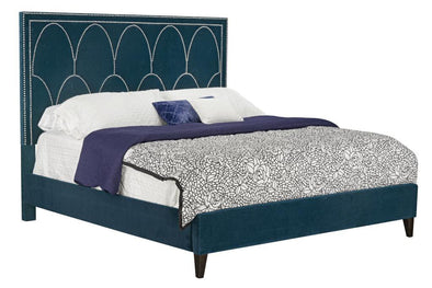 89284 king bed complete teal NEW-LOCAL DELIVERY OR PICK UP ONLY