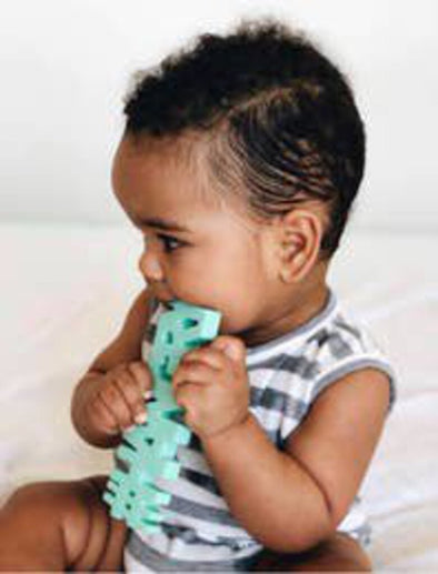 NEW teether hangry mint