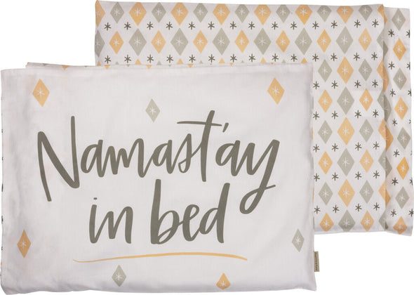 pillowcase NEW namastay