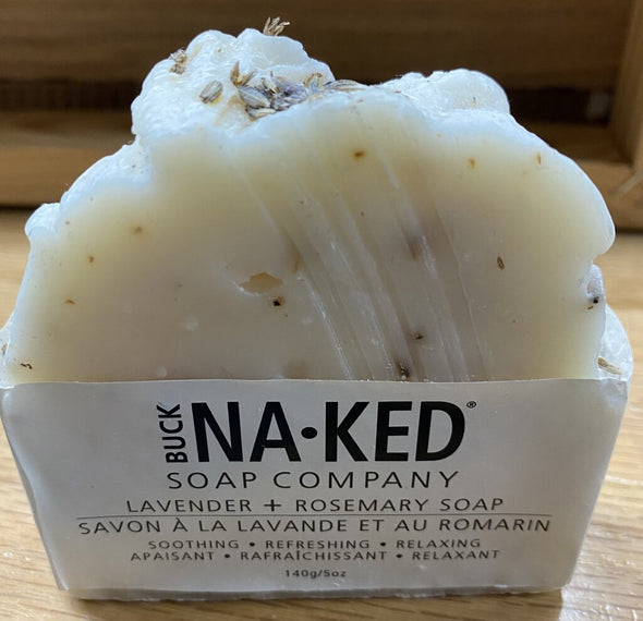 buck naked soap NEW