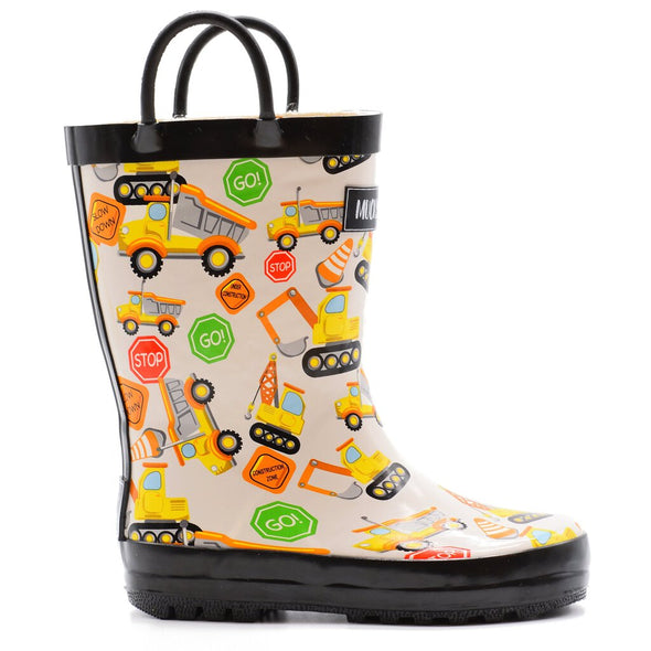 NEW rain boots construction 3