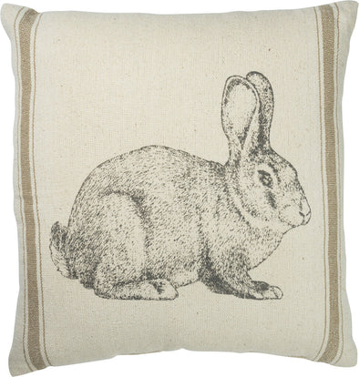 bunny pillow NEW 15x15