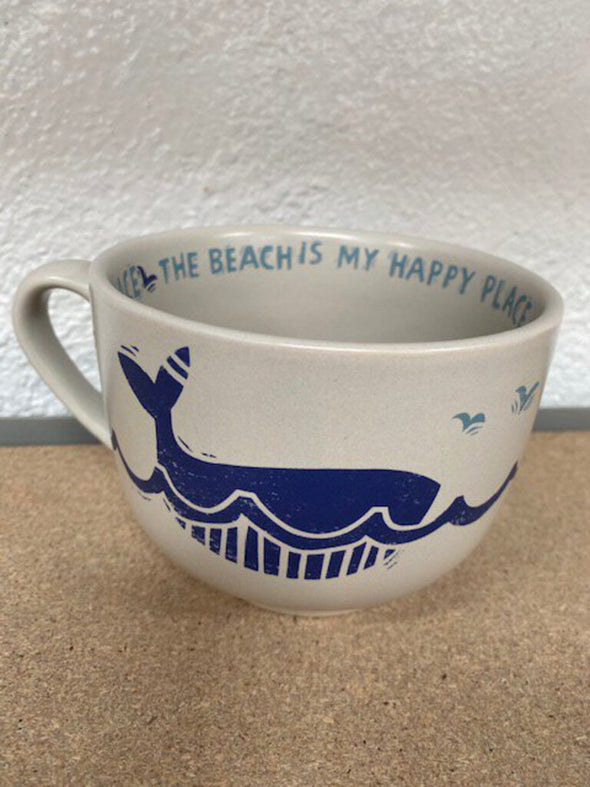 New Beach happy place mug