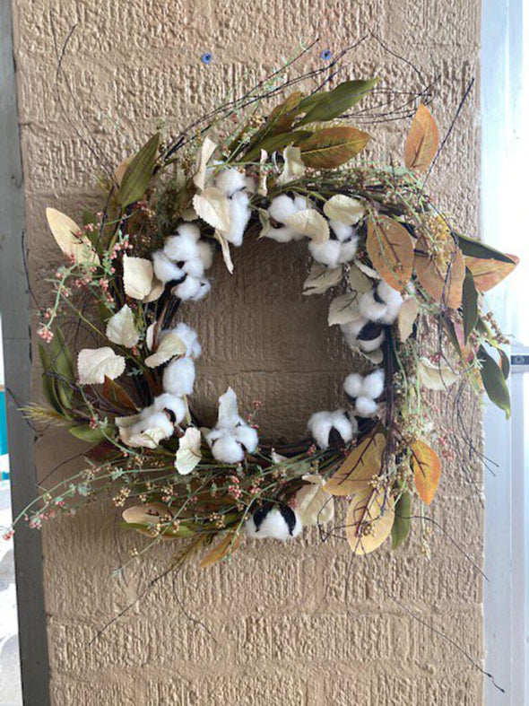NEW primitives by kathy cotton wreath