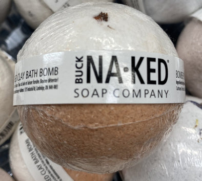 New buck naked both bomb rose & moroccan red clay bath bomb