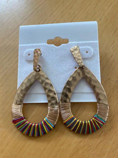new earring multi color