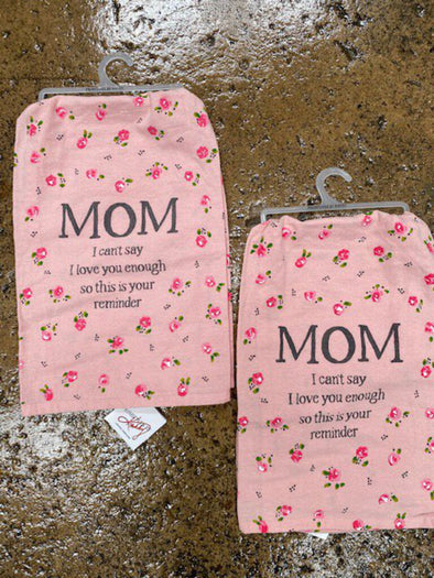 Mom dish towel NEW