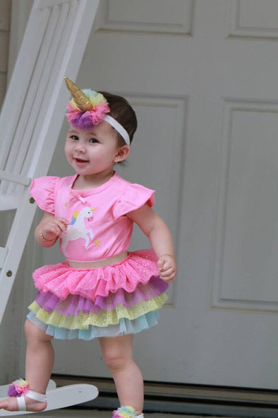 london bridge unicorn tutu set new 0-12m