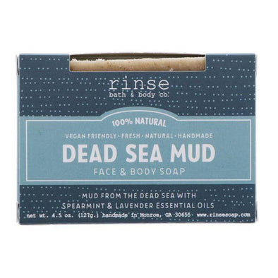 Rinse soap dead sea mud NEW