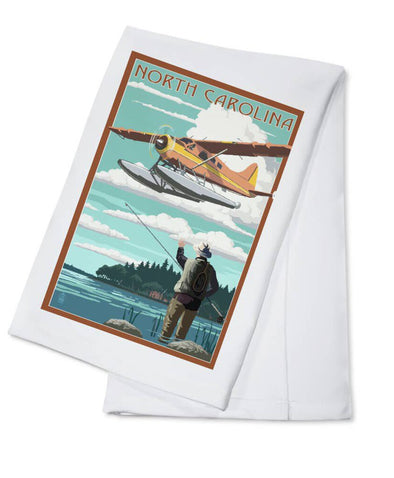 NC tea towel NEW plane