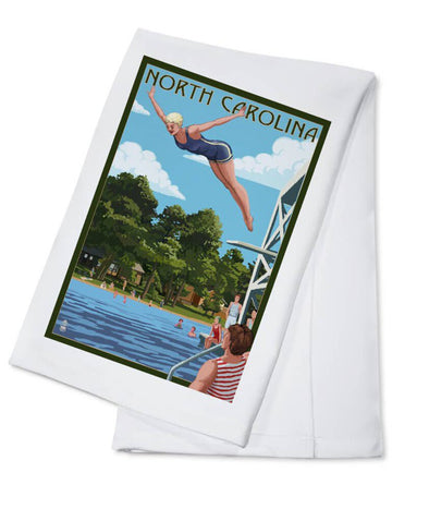NC tea towel NEW swim