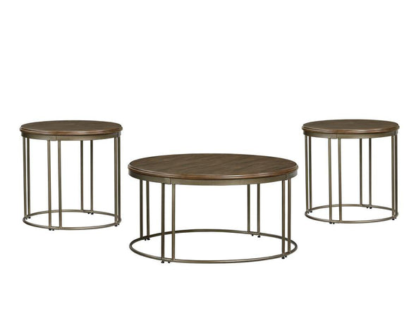 1028973 oslo metal/wood coffee table only NEW
