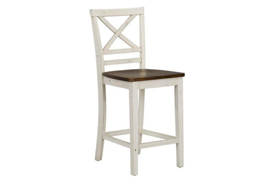 19094 cream bar stool NEW