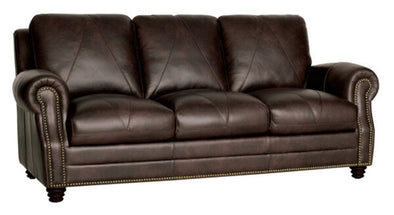 NEW Luke Leather sofa arrives in April pre-pay to guarantee yours!