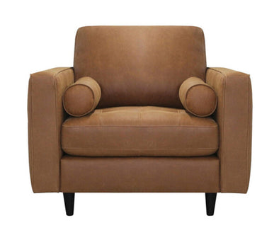 NEW Luke Italian Leather chair eta June~wheat
