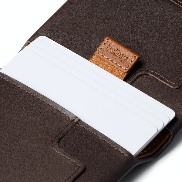Slim Sleeve Wallet - Java Caramel