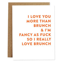 Brunch Love Card