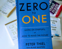 Zero to One: Notes on Startups, or How to Build the Future - Hardcover by Peter Thiel, Blake Masters