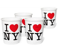 I Love New York Ceramic Coffee Cup  - 9 ounce