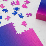 Gradient 500 Piece Puzzle Collection - Pink/Blue