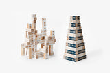 Blockitecture Tower: Architect Building Blocks - Blue