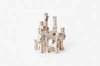 Blockitecture Tower: Architect Building Blocks - White