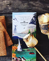 Campfire S'mores - COMPARTÉS Dark Chocolate Bar (Available ONLY for PICKUP or LOCAL DELIVERY)