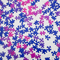 Gradient Puzzle Collection - Pink/Blue