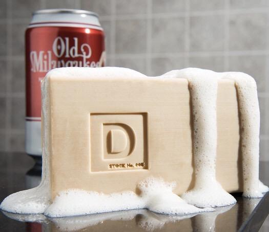BIG ASS BRICK OF OLD MILWAUKEE BEER SOAP