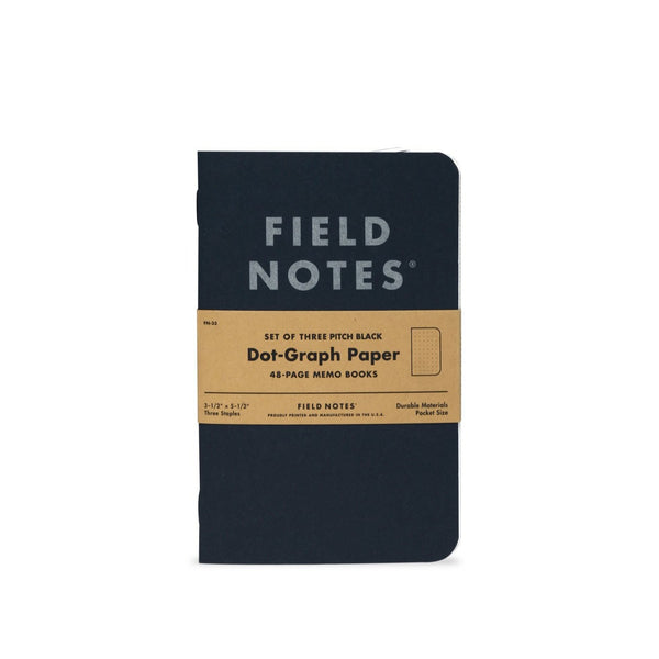 Field Notes - Dot Graph Paper (Set of Three)