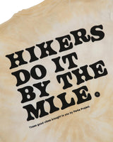 Hikers Do It By The Mile Tie Dye Tee