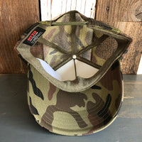 Hermosa Beach LIFEGUARD TOWER Camouflage Trucker Hat