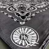 Hermosa Beach Bandana - Charcoal Gray