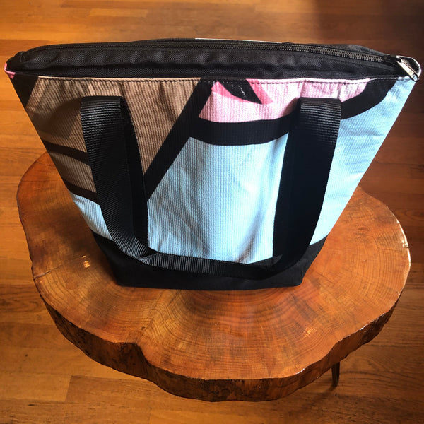 Beck Cooler Bag (Light Blue/Black/Pink/Brown)