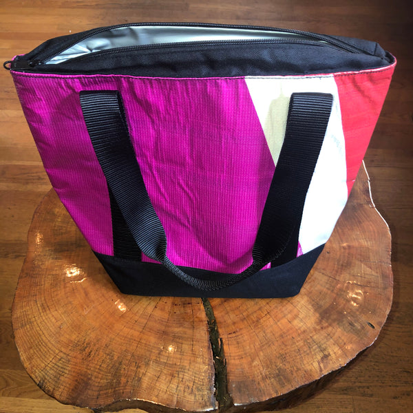 Beck Cooler Bag (Pink/Black/White)