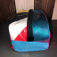 Munich Toiletry Bag - Dopp Kit (Pink/Yellow/Orange/Blue/Black)