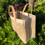 HERMOSA BEACH: City Series - Short Handle Petite Market Bag in Natural (TYPE: BD-ML035N-OS)