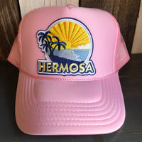 Hermosa Beach FIESTA Trucker Hat - Pink