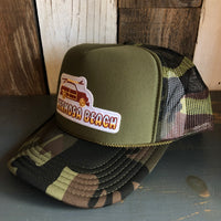 Hermosa Beach WOODIE Trucker Hat - Camouflage/Olive
