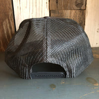 Hermosa Beach SUPREME HERMOSA Trucker Hat - Charcoal Grey