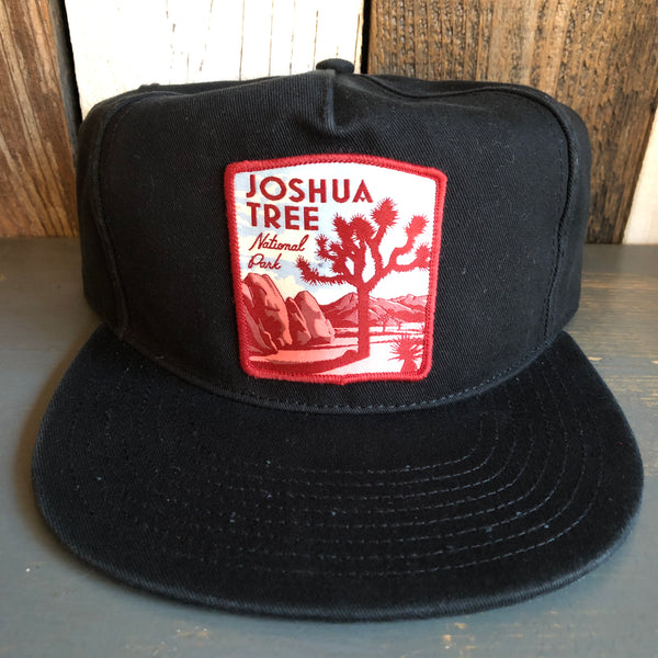 JOSHUA TREE NATIONAL PARK - 5 Panel Low Profile Style Dad Hat - Black