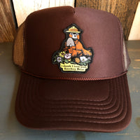 I THINK I LOVE YOU, SMOKEY BEAR Trucker Hat - Brown