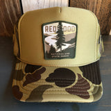 REDWOOD NATIONAL & STATE PARKS Trucker Hat - CAMOUFLAGE Green/Light Loden/Green