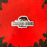 Hermosa Beach Patch - SURFING GRIZZLY BEAR