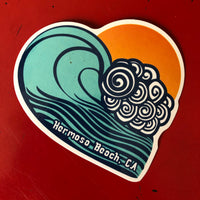 Hermosa Beach Sticker - TUBULAR