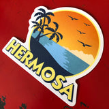 Hermosa Beach Sticker - FIESTA